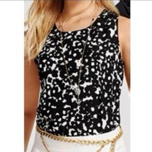Cabi Dixon sleeveless blouse M